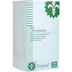 WESCO Papper Wrapped Mint Toothpicks