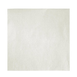 Paterson Pacific Parch Co Napkins, White, Ply, 4 Packs of 1000