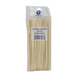 "WESCO 6"" Bamboo Skewer"