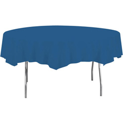Creative Converting Tablecover Octagonal Navy 82 in