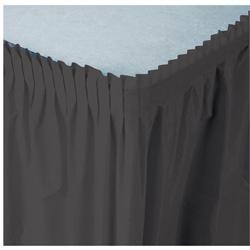 Creative Converting Tableskirt Black 14'