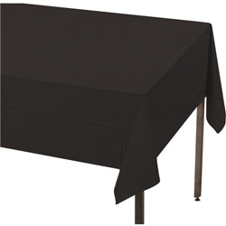Creative Converting Tablecover Black 54 in x 108 in