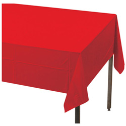 Creative Converting Tablecover Red 54 in x 108 in