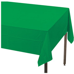 Creative Converting Tablecover Green 54 in x 108 in
