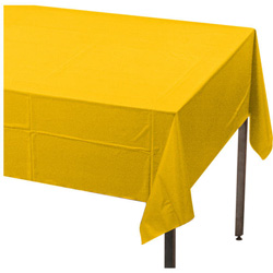 Creative Converting Tablecover Yellow 54 in x 108 in