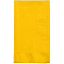 Creative Converting Napkin 2-Ply Yellow 15 in x 17 in