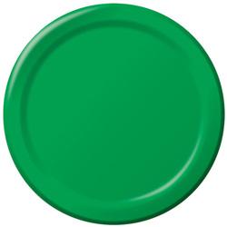 Creative Converting Plate Paper Green 10 in