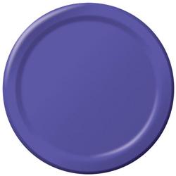 Creative Converting Plate Paper Purple 10 in