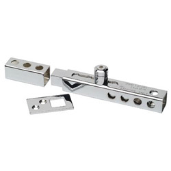 "American Lock 3/4"" Locking Bolt Steelthrow, Chrome Plated"