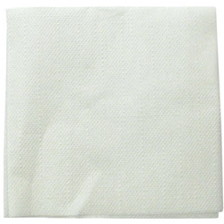 Paterson Pacific Parch Co Semi-Crepe Napkins, White, 1 Ply, 16 Packs of 250