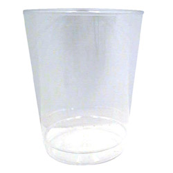 WNA Comet 8 Oz Hot/Cold Plastic Tumblers, Clear, Pack of 600