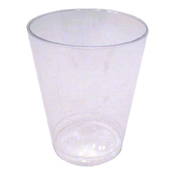 WNA Comet 10 Oz Hot/Cold Plastic Tumblers, Clear, Case of 600