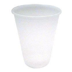 Carthage Cup 10 Oz Cold Plastic Cups, Clear, Case of 1000