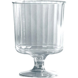 WNA Comet Plastic 8-Oz Wine Glass, Case of 240