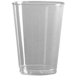 WNA Comet 6 Oz Hot/Cold Plastic Tumblers, Clear, Pack of 500