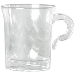WNA Comet Classicware Clear Coffee Cup, 8 Ounce