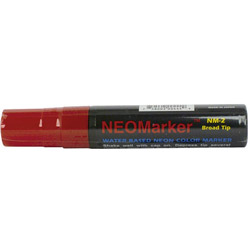R&T Enterprises Red Neomarker with a Wide Tip