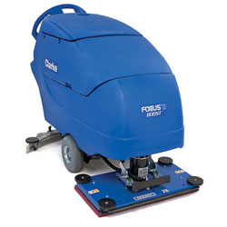Clarke FOCUS® II BOOST 28® Mid-size Autoscrubber, 242 Ah Wet Batteries, onboard charger, Pad Holder