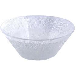 "Maryland Plastics 4550 Clear 3 1/2 Quart Plastic Bowl, 11"" x 4 1/8"""