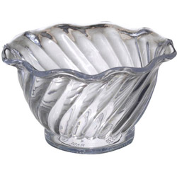 Misc Items 5 Ounce Clear Tulip Dish