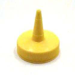 Traex Yellow Standard Cap for Squeeze Bottles