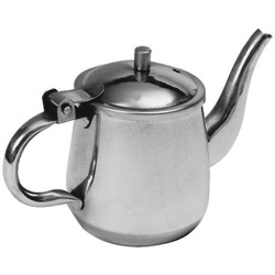 Johnson-Rose 10 Ounce Stainless Steel Gooseneck Teapot