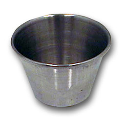 Johnson-Rose 2.5 Ounce Stainless Steel Sauce Cup
