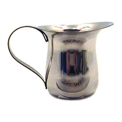 Misc Imports 3 Ounce Stainless Steel Bell Creamer