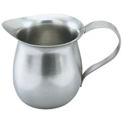 The Vollrath Company 8 Ounce Stainless Steel Bell Creamer