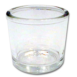 Traex 6 Ounce Glass Condiment Jar and Lid