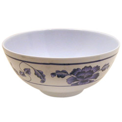 "Misc Imports 6-7/8"" Lotus Rice Bowl"