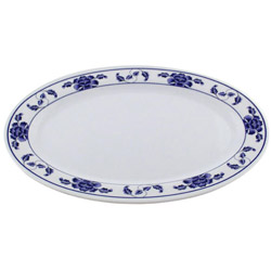 "Misc Imports 12"" Lotus Platter"