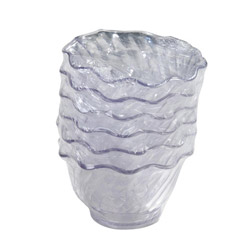 Carlisle Foodservice Products 5 oz Clear Tulip Dish