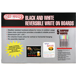 "Mr Bar-B-Q Board Marker, 24"" x 36"""