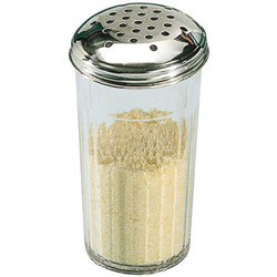 American Metalcraft Plastic Cheese Shaker, 12 Ounce