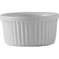 Tuxton Ramekin Fluted White 4.5 oz