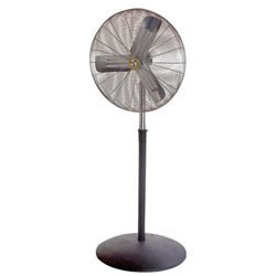 Airmaster 71581 Commercial Unit Pedestal Air Circulating Oscillating Fan, 30""