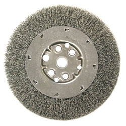 "Anderson Brush Dm8s .0104/ss Crimped Wire Wheel 5/8""-1/2"" Ar"