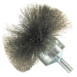"Anderson Brush Nf40 4"" .008 Carbon Circular Flared End Brush"