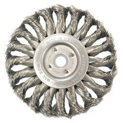 "Anderson Brush Ts8 .014 Knot Wheel Brush 5/8""-1/2"" Arb"