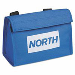 North Safety Products Carrying Bag f/7900 Series Respirators, 4200/7190 Series Masks, Nylon/Velcro