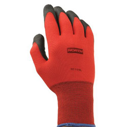 North Safety Products Northflex Red Nylon/foamPVC Glove 8m 15 Gauge