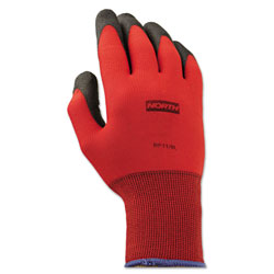 North Safety Products Northflex Red Nylon/foamPVC Glove 9l 15 Gauge