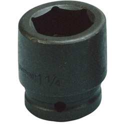 "Armstrong Tools 1/2"" Drive 6 Point Standard Impact Socket, 1"""