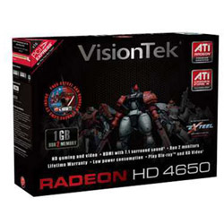 Visiontek Radeon HD 4650 - graphics adapter - Radeon HD 4650 - 1 GB