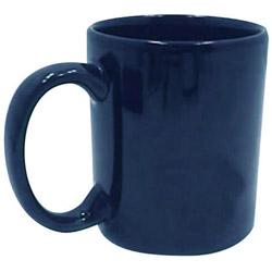 Tri-S Superior Screen 11 Ounce Blue C-Handle Coffee Mug