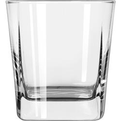 Libbey Quartet Square Base Rocks Glass 12 oz