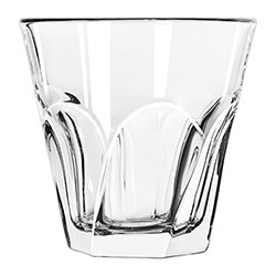 Libbey Gibraltar Twist Rocks Glass, 9 Oz