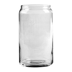 Libbey Beer Can Glass, 16 Oz