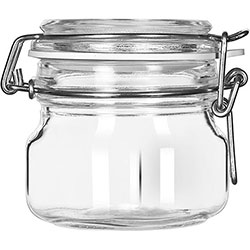 Libbey Garden Jar with Clamp Lid 6.75 oz